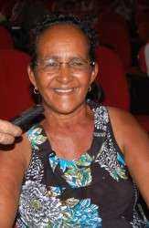Aos 61 anos, dona Raimunda fez o teste e aguarda agora o resultado que pode garantir a ela o direito à pensão vitalícia (Foto: Onofre de Souza Brito)