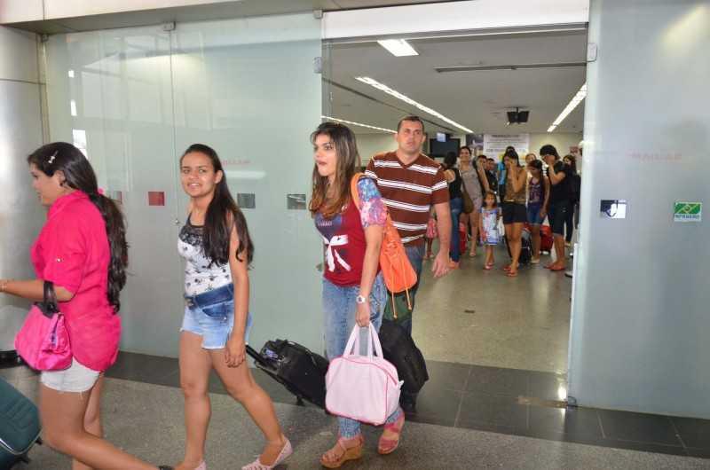 Mais de 100 alunos vieram dos munic