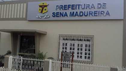 prédio prefeitura de sena