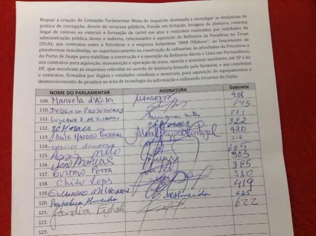 assinatura cpi