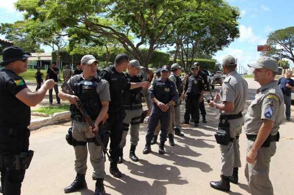 policia na rua