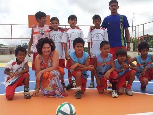 perpetua futebol meninos