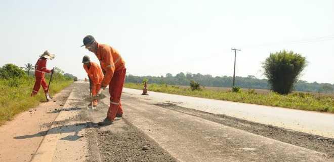 Obras na BR-364, entre RO e AC, 'estão em ritmo acelerado', diz Fecomércio