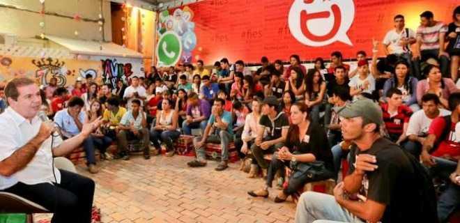 Governador Tião Viana reúne com juventude do Juruá no Arena Digital