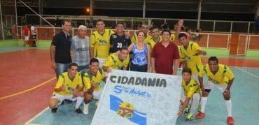 Futsal: Cidadania vence Copa Confraternização