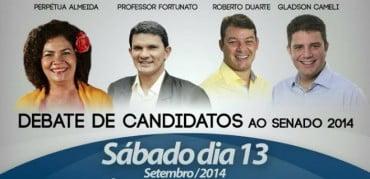 Debate no Juruá com os candidatos ao Senado (coluna do Braña)