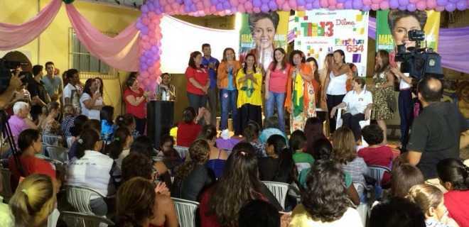 Mulheres entram na campanha por Perpétua no senado