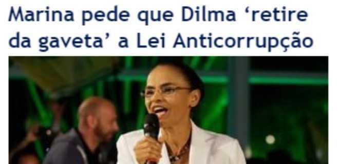 Ao invés de cobrar Dilma, Marina tem é que explicar a origem dos recursos e do avião que a transportava na campanha