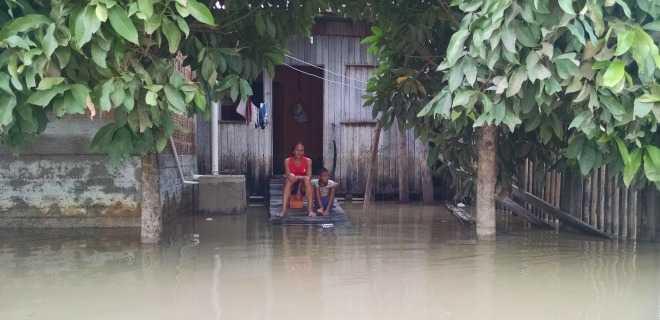 Mãe e filho…em Tarauacá (imagem que me toca)