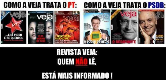 Dilma desmoraliza Veja mais uma vez