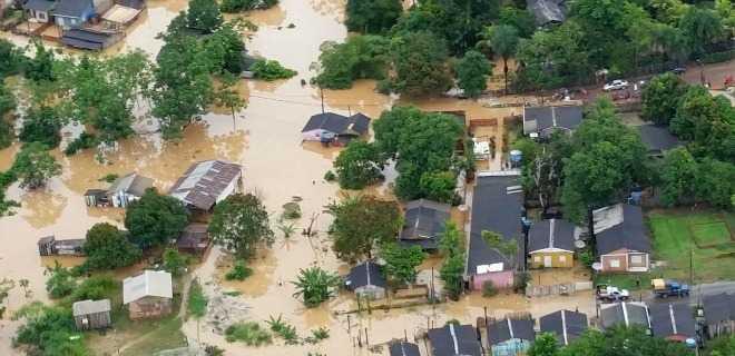 brasileia enchente