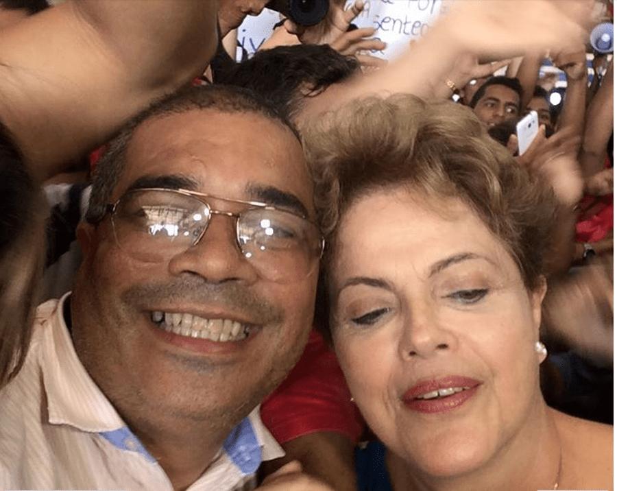 dilma selfie