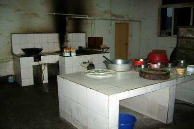 cozinha de empresa terceirizada