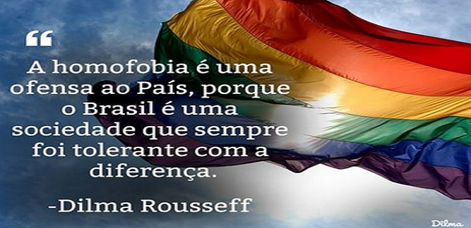 dilma contra homofobia