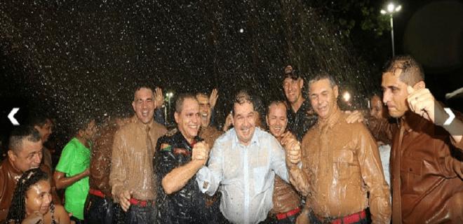 Governador: banho da gratidão