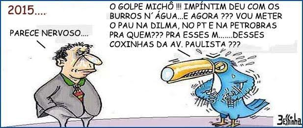 charge do besinha domingo