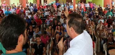 Sena comemora nova etapa do Luz para Todos (vídeo com Mano)