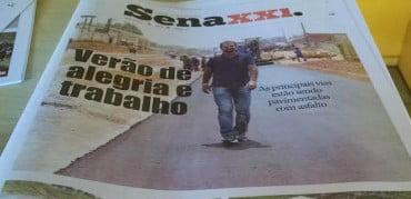 Capa do SENA XXI, que já circula em Sena