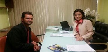 Em Brasília Mano busca recursos para acabar com lixão de Sena