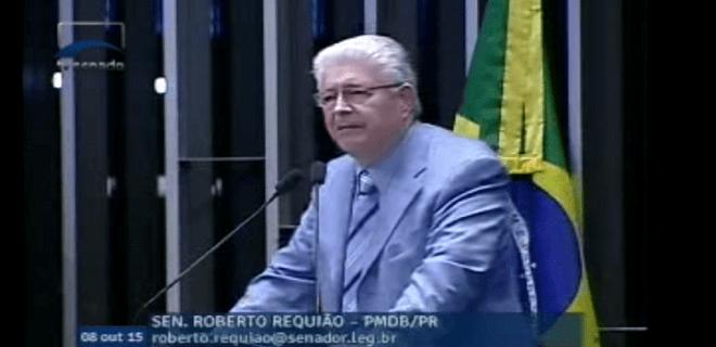 Sen Requião dá aula na tribuna e mostra como TCU age politicamente contra Dilma (v)