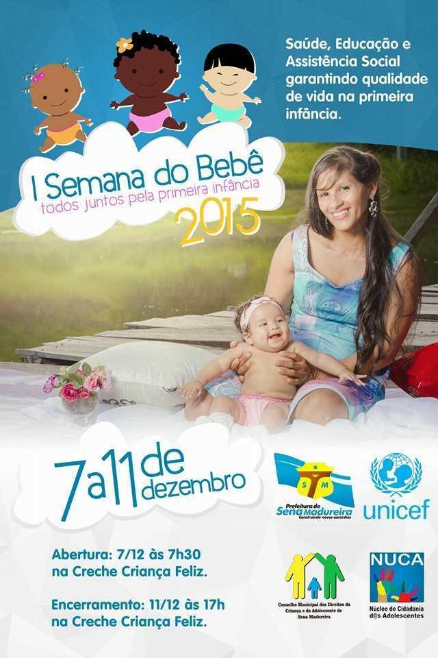 anuncio semana do bebê