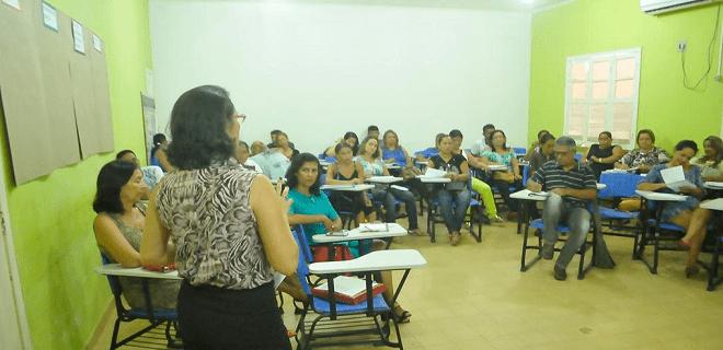 aula em sena