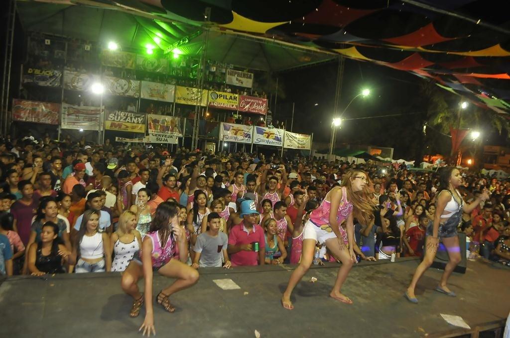 carnaval palco