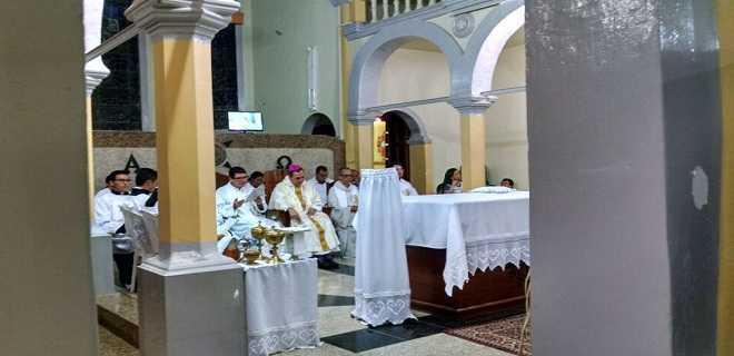 bispo missa paolino