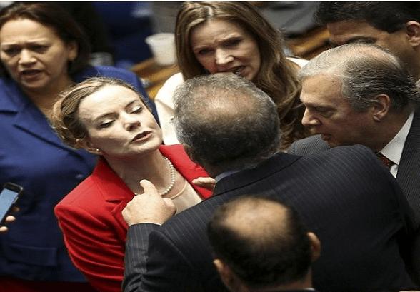 golpistas do senado