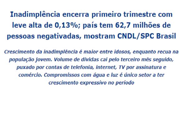 SPC: 5,7 milhões de idosos endividados (Norte é o campeão)