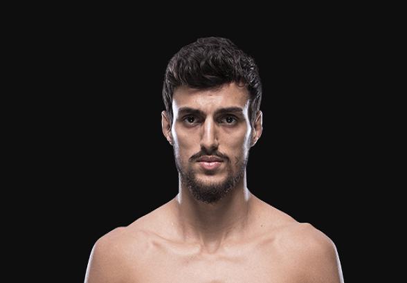 Ricardo Ramos prometeu ser uma lenda no esporte (by UFC Player Database)
