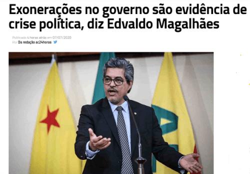 crise no governo
