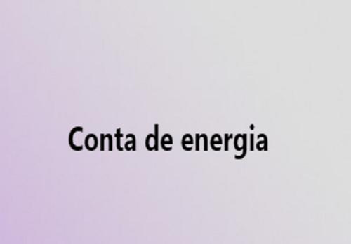 conta de energia