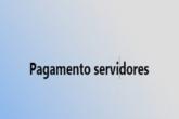 pagamento servidores