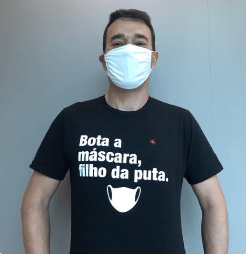 bota a máscara