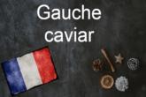 esquerda caviar